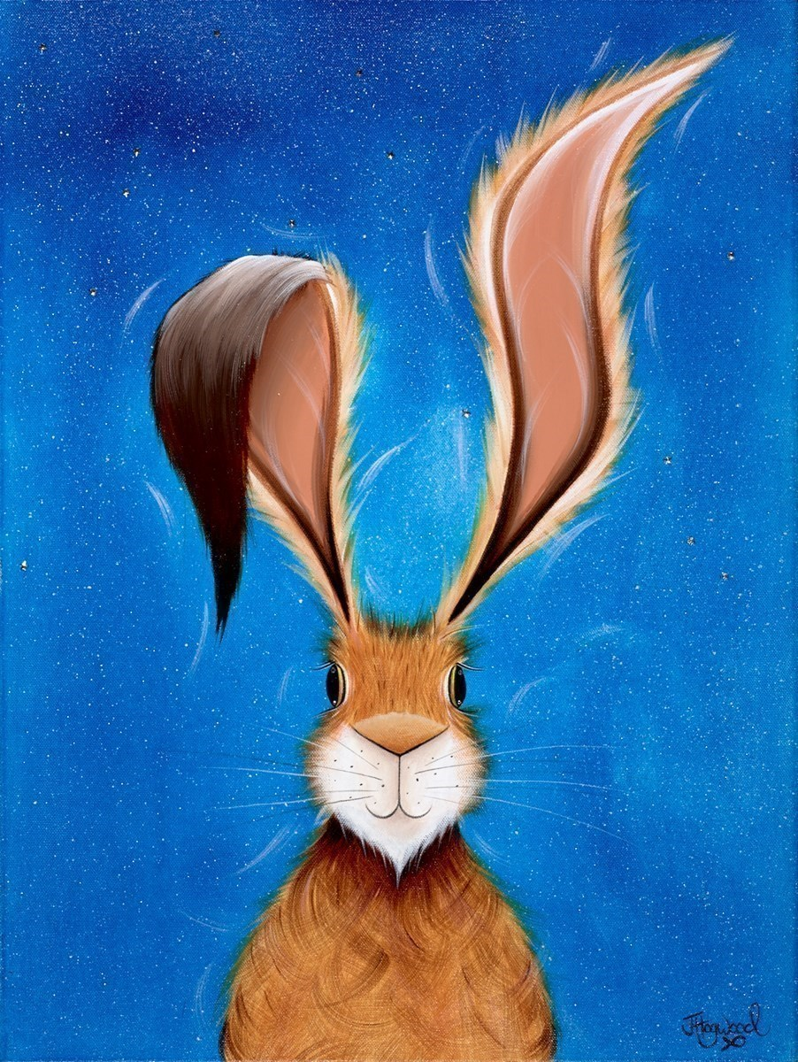 Harry Under the Starlight by Jennifer Hogwood -  sized 18x24 inches. Available from Whitewall Galleries